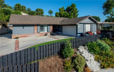 Saugus Single Family Home For Sale: 22263 Barbacoa Drive