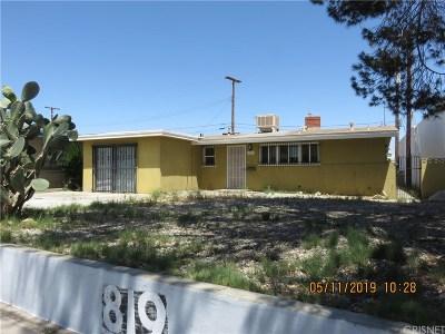 Lancaster Single Family Home For Sale: 819 West Avenue J