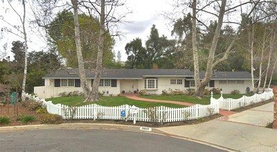 Woodland Hills CA Single Family Home Active Under Contract: $1,099,000