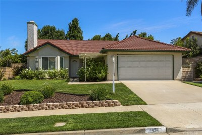 Simi Valley Single Family Home Active Under Contract: 434 Appleton Road
