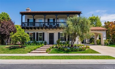 Calabasas CA Single Family Home For Sale: $3,500,000