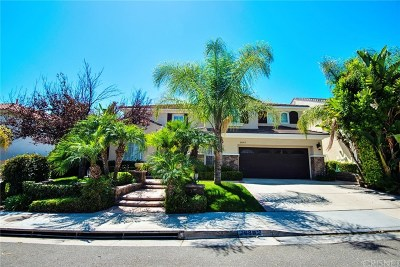 Stevenson Ranch Single Family Home Active Under Contract: 26802 Wyatt Lane