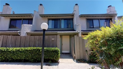 Agoura Hills Condo/Townhouse For Sale: 5263 Colodny Drive #8