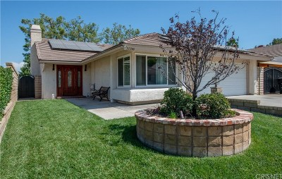 Castaic Single Family Home For Sale: 31346 Cherry Drive