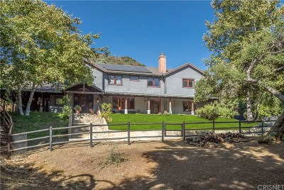 Calabasas CA Single Family Home For Sale: $3,399,000