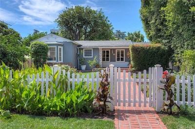 Studio City Single Family Home For Sale: 4383 Irvine Avenue