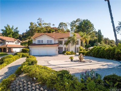 Woodland Hills CA Single Family Home For Sale: $1,875,000