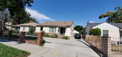San Fernando Single Family Home For Sale: 1819 Glenoaks
