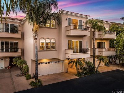 Malibu Condo/Townhouse For Sale: 23937 De Ville Way