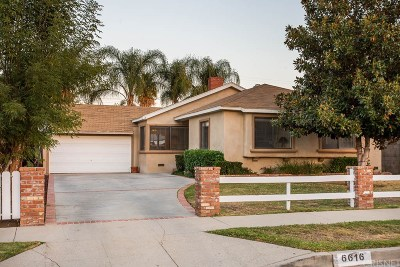 Woodland Hills CA Single Family Home For Sale: $615,000