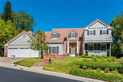 Calabasas Single Family Home For Sale: 24049 Chestnut Way