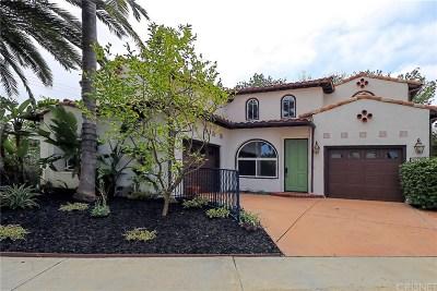 Tarzana Single Family Home For Sale: 18102 Jaguar Court