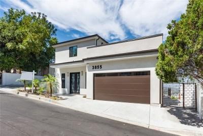 Sherman Oaks Single Family Home For Sale: 3855 Sherwood Place