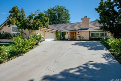 Chatsworth Single Family Home Active Under Contract: 21600 Los Alimos Street