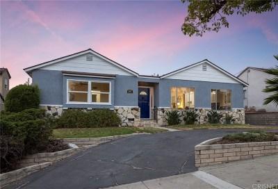 Burbank Single Family Home For Sale: 907 Cornell Drive