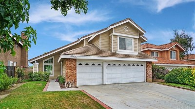 Saugus Single Family Home For Sale: 22177 Pamplico Drive