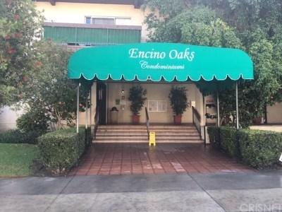 Encino Condo/Townhouse For Sale: 5460 White Oak Avenue #C221