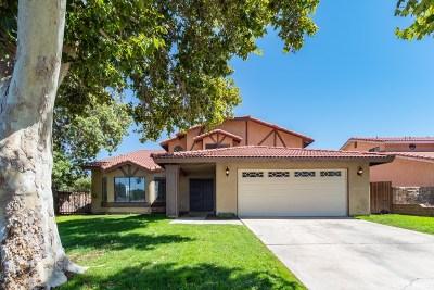 Lancaster Single Family Home For Sale: 43954 Emile Zola Street