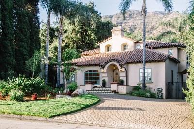 Altadena Single Family Home For Sale: 1879 East Altadena Drive