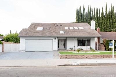Northridge Single Family Home For Sale: 18751 Vintage Street