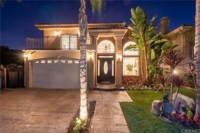 Studio City Single Family Home For Sale: 4539 Ben Avenue
