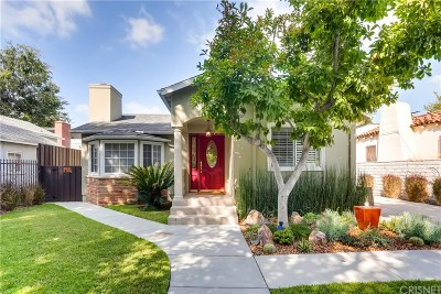 Single Family Home For Sale: 5507 Ventura Canyon Avenue