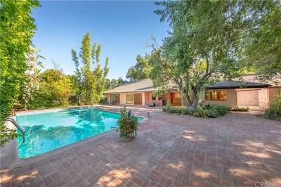 Encino Single Family Home For Sale: 17401 Rancho Street