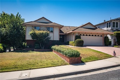 Agoura Hills Single Family Home For Sale: 30604 Portside Place