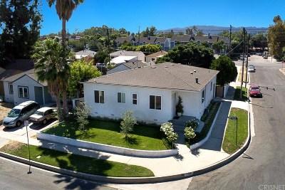 Encino Single Family Home For Sale: 17740 Martha Street