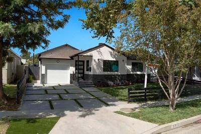 Encino Single Family Home For Sale: 5919 Encino Avenue
