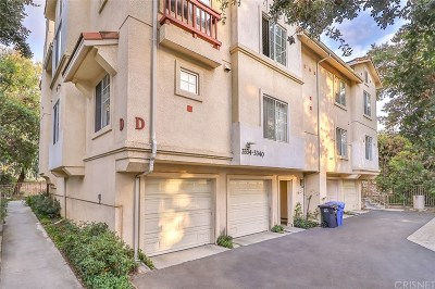 Westlake Village Condo/Townhouse For Sale: 3334 Holly Grove Street