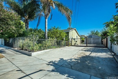 Single Family Home For Sale: 10620 Laurel Canyon Boulevard