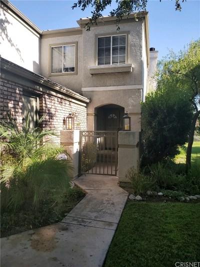 Los Angeles County Condo/Townhouse For Sale: 24432 Hampton Drive #A