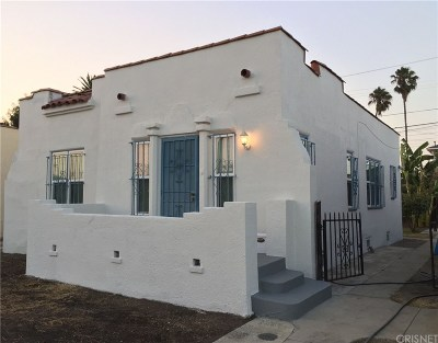 Los Angeles County Single Family Home For Sale: 1315 West 56th Street