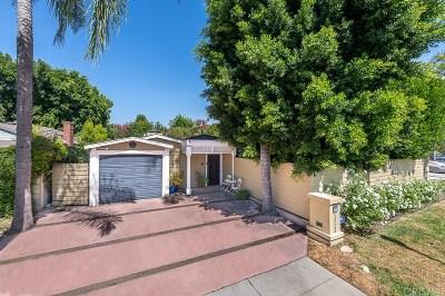 Sherman Oaks Single Family Home For Sale: 13243 Valleyheart Drive