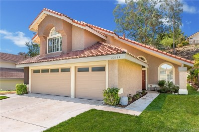 Saugus Single Family Home For Sale: 22124 Pamplico Drive