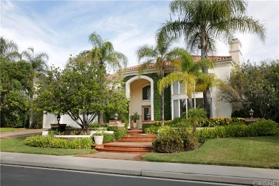 Calabasas Single Family Home For Sale: 25935 Wellington Court