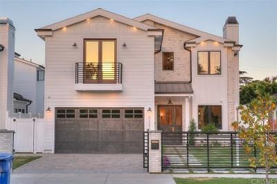 Sherman Oaks Single Family Home For Sale: 4262 Colbath Avenue