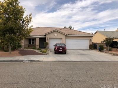 Lancaster Single Family Home For Sale: 2052 West Avenue J6