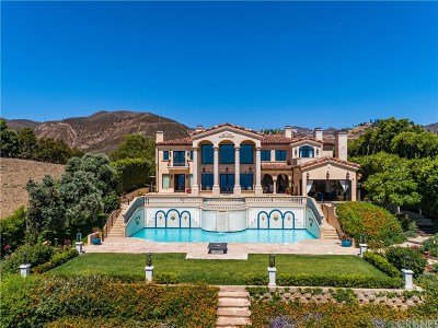 Malibu CA Single Family Home For Sale: $9,999,000
