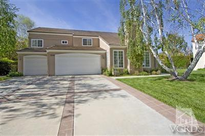 Westlake Village CA Single Family Home Sold: $1,249,000