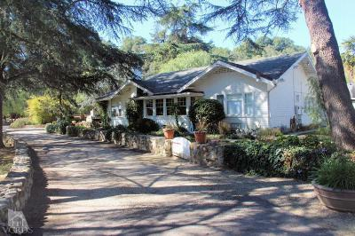 Santa Paula CA Single Family Home Sold: $2,150,000