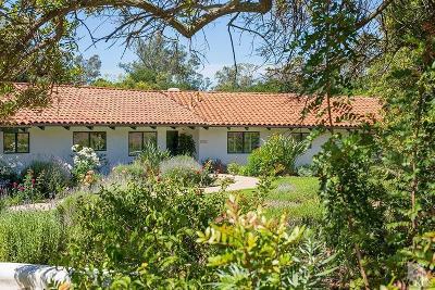 Ojai Single Family Home For Sale: 521 Del Oro Drive