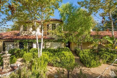 Ojai Single Family Home For Sale: 11220 Sulphur Mountain Road