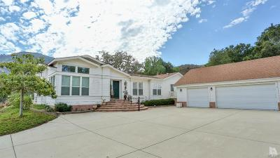 Thousand Oaks Single Family Home For Sale: 1200 Hidden Valley Road
