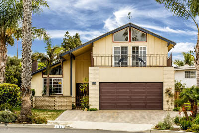 Ventura Single Family Home For Sale: 1120 Seal Court