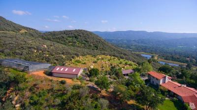 Ojai Single Family Home For Sale: 3191 Ladera Road