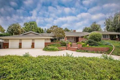 Camarillo Single Family Home For Sale: 1400 Ramona Drive