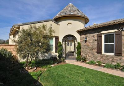 Moorpark Single Family Home Active Under Contract: 13669 Hightop Street