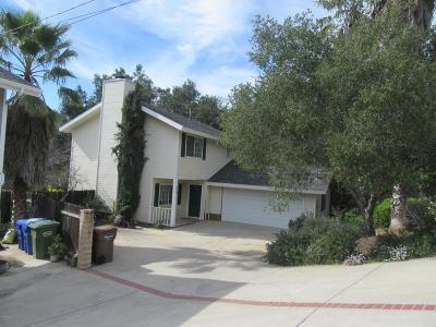 Ojai Single Family Home For Sale: 711 Tico Road